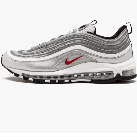 Nike Air Max 97 Silver Bullet Kids 6Y or Women 7.5